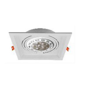 Spot Χωνευτό Οροφής LED GU10 Socket 16-50W Μεταλλικό AR111