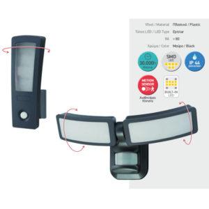 Φωτιστικό LED Μπομπέ με Αισθητήρα Κίνησης 27W SMD