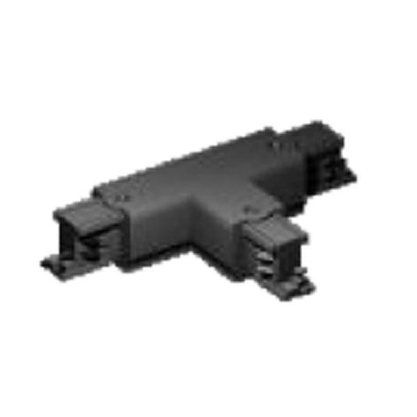 Σύνδεσμος Ταφ για Ράγα Spot LED Μαύρο