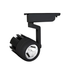 Spot LED Μαύρο για Ράγες 30W COB 4000 C.W με Μπράτσο