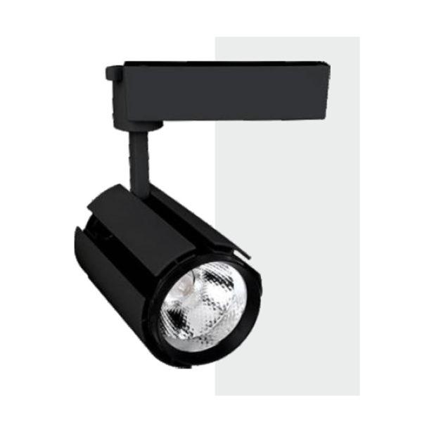 Spot LED Μαύρο για Ράγες 30W COB 4000 C.W