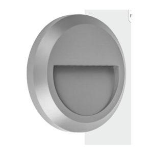 Απλίκα LED Στρογγυλή με Εσοχή Εξωτερικού Χώρου 1.5W SMD