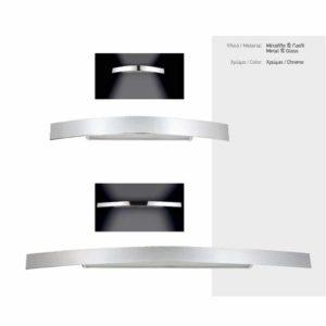 Απλίκα Τοίχου LED Curve Bar 10W - 60W