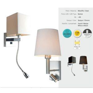 Απλίκα Εύκαμπτη LED Κώνος 3W COB ON/OFF